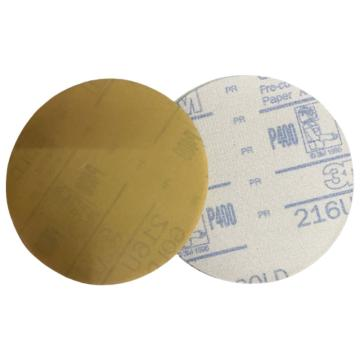 3M 216U背绒砂碟,5寸无孔,400#,100张/包