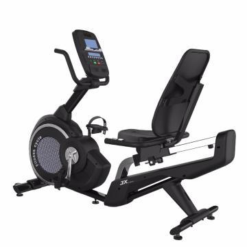 军霞 轻商用卧式健身车,JX-170R家用磁控室内运动健身车 送货上楼含安装(偏远地区除外)