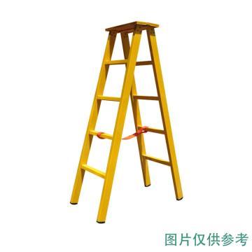 华泰 绝缘人字梯,额定载重(kg):150 耐压220KV 梯长3.5M,HT-034 3.5M