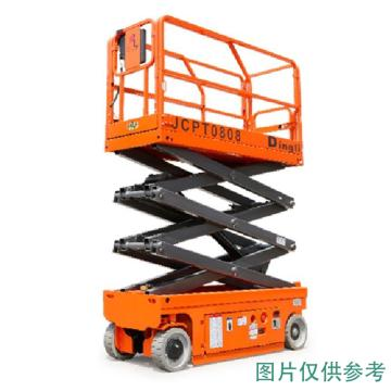 鼎力 自行走剪叉式高空作业平台,工作载荷(kg):230 工作高度(m):10 直流电机驱动,JCPT1008AC