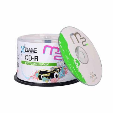 麦克赛尔(Maxell) M2 CD-R 4.7G/16X 刻录光盘 50片桶装