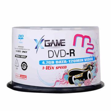 麦克赛尔(Maxell) M2 DVD-R 4.7G/16X 刻录光盘 50片桶装