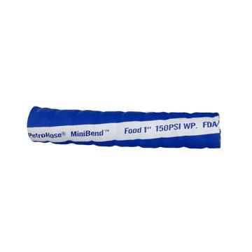 "帕卓 食品管,Chemivic™合成橡胶,1/2""蓝色100米,12.7*22.8mm, -32℃ 到100℃,150PSI"