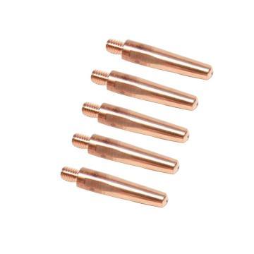 景盛,二保焊导电嘴(铬锆铜),特级铬锆铜,M9×45×φ1.2