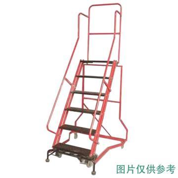 金锚 拆装式可移动登高平台梯,踏板数:9 额定载荷(KG):110 平台工作高度(米):2.35,HB4915G