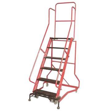 金锚 拆装式可移动登高平台梯,踏板数:6 额定载荷(KG):110 平台工作高度(米):1.56,HB4912G