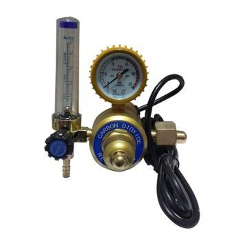 国力,二氧化碳加热表,YQT-731L二保焊气体减压表