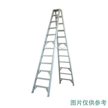 金锚 铝合金双侧梯,踏板数:3 额定载荷(KG):150 使用高度(米):2.56,AO31-203