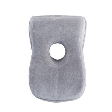 南极人 天鹅绒午睡枕,35*24*14cm 随机色(蓝/灰)单位:只