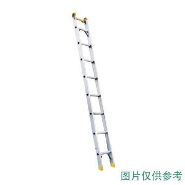 宝富 铝合金单侧梯,全长:2.5m 自重:6.4kg,RLAS-25