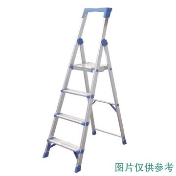 金锚 铝合金高强度工作梯,踏板数:8 额定载荷(KG):150 工作高度(米):2.0,AO13-108