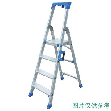 金锚 铝合金高强度工作梯,踏板数:8 最大承重(KG):260 工作高度(米):1.84,AO19-108