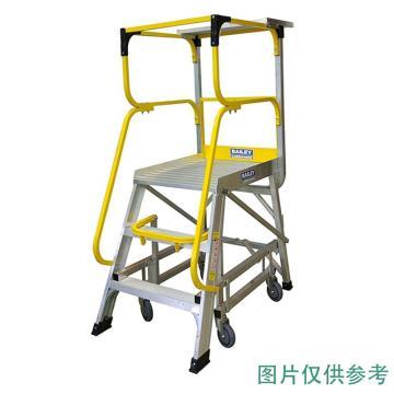 稳耐 大力神系列平台梯,梯级数:4 额定载荷(KG):170 平台高度(MM):1104,FS13592