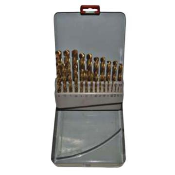 捷夫 涂层麻花钻套装,1-13(间隔0.5),25件