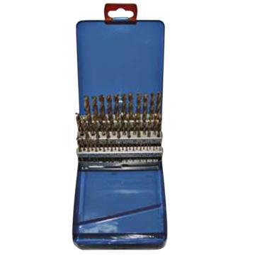 捷夫 涂层麻花钻套装,1-5.9(间隔0.1),50件