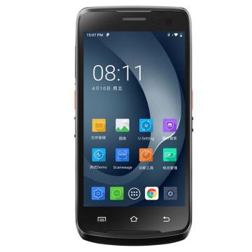 优博讯(UROVO)二维维手持数据终端,PDA采集器工业手机 仓库物流快递医院银行i6310A(标配 1+8G)