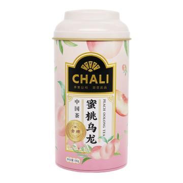 茶里 蜜桃乌龙罐装,68g/罐