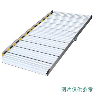 瑞居 铝合金坡道板,展开:L1660×W750×H55(mm),建议高度:30cm,受重:300kg,XPB-BH166