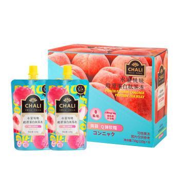 茶里 胶原蛋白肽茶冻盒装720g 水蜜桃味,120g/袋 6袋/盒