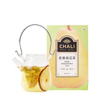 茶里 雪梨桂花茶盒装40g,4g/包 10包/盒