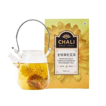 茶里 金银菊杞花茶盒装35g,3.5g/包 10包/盒
