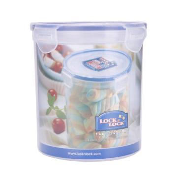 乐扣乐扣塑料保鲜盒,圆形食物冰箱收纳盒 HPL933B-CHS 1400ml