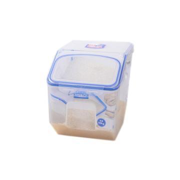 乐扣乐扣米桶,家用米缸米桶防潮防虫密封桶米盒子 HPL510-CHS 12L大容量