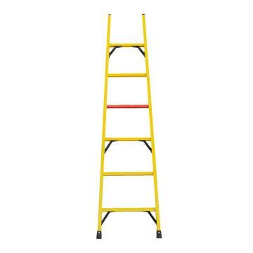 步步高 飞翔出品绝缘单梯,梯长2m,踏板数:6,承重100kg,耐压220kv,型号:FS-2米