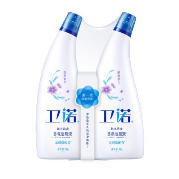 蓝月亮 卫诺香氛洁厕液套装,清怡罗兰 500g*2/组 单位:组