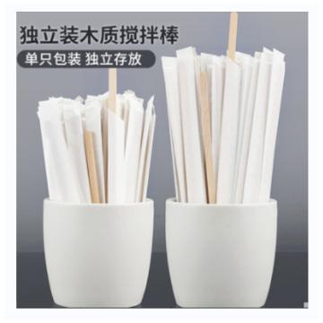 啡忆 调漆小木棒,19CM 100支/包