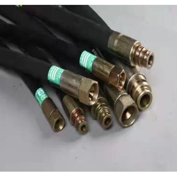 西北延长橡胶 高压胶管总成,DN10*0.5m/45MPa,根