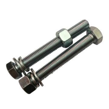 哈德威 六角镀锌全牙套件(8.8级),M10 x 55