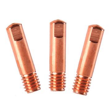 导电嘴/铜电极,φ1.0,M6×25,欧式,紫铜