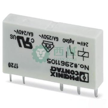 菲尼克斯PHOENIX 继电器头子,REL-MR- 24DC/21 2961105(10个/包)