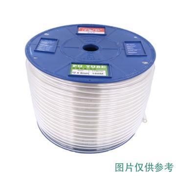 新同力 聚醚气管,16*12,透明,100米/卷
