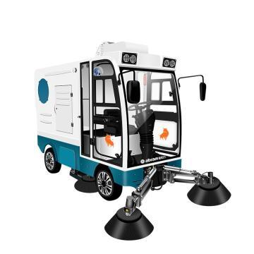 亚伯兰 电动款四轮大型驾驶式扫地车道路扫路车,ybl-2200 18500㎡/h 48/150A