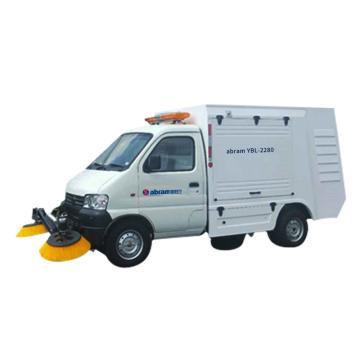 亚伯兰 环保纯电动智能扫地车,YBL-2280 18500㎡/h 7.5kw 72V200A