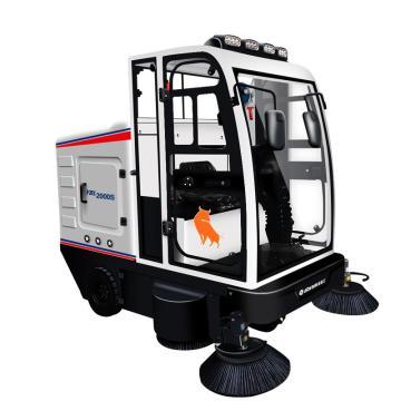 亚伯兰 双吸风双电机全封闭扫地车,ybl-2000S 16000㎡/h 48V150A
