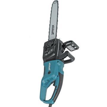 牧田makita 1800W电链锯伐木锯园林木头切割机链条锯手持锯350mm,UC3551ASP