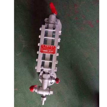 慈溪市液面计厂 单色水位计,B42X/2.5-L350mm,带上下两端阀门
