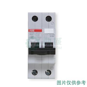ABB 微型剩余电流保护断路器 GSH201(GSH200) 1P+N 16A C型 30mA AC GSH201 AC-C16/0.03