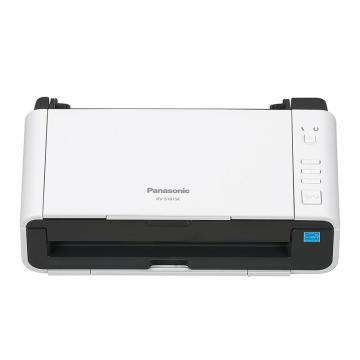 松下 Panasonic 扫描仪,KV-S1015C A4高速高清彩色双面自动馈纸办公文档卡片扫描仪