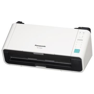 松下 Panasonic 扫描仪,KV-S1037X A4 馈纸式 高速高清双面彩色文档扫描仪 有线+WiFi扫描