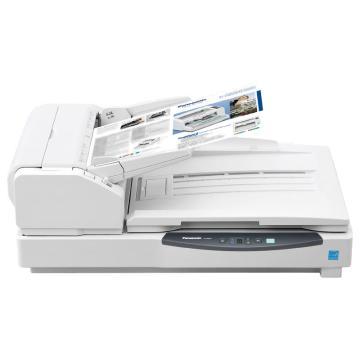 松下 Panasonic 扫描仪,KV-S7077 A3 高速双面彩色文档扫描仪自动馈纸+平板 75PPM