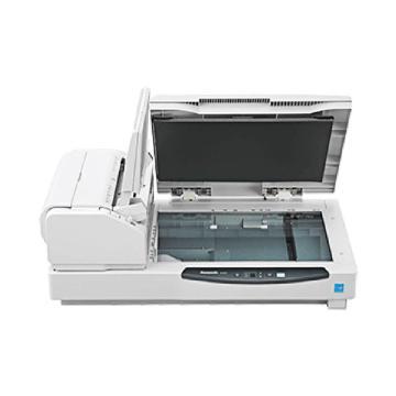 松下 Panasonic 扫描仪,KV-S7097-CC A3高速双面彩色文档扫描仪 自动馈纸+平板 95PPM