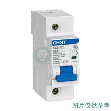 正泰CHNT 微型断路器 NXB-125 4P 100A D型