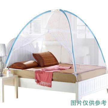 南极人 免安装蒙古包蚊帐,120*200*135 白色 单位:件