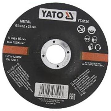 易尔拓 金属角磨片,125×22×6,12200RPM,1片/包