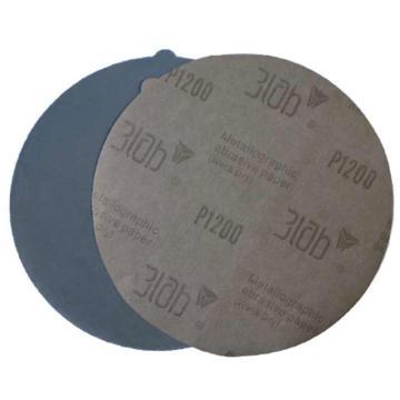 三灵 金相专用砂纸,Φ220, 碳化硅,背胶,2000#,100片/包