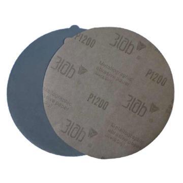 三灵 金相专用砂纸,Φ220, 碳化硅,无背胶,2000#,100片/包